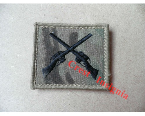1204mtp Skill at Arms / Marksman qualification badge. MTP