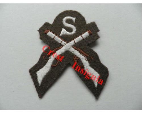 1205c Sniper qualification badge. Colour