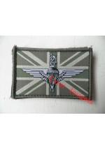 1513 Para Cap Badge/Union Jack morale patch.