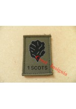 1531 1 Scots [Royal Scots Borderers] morale patch.