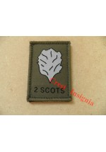 1532 2 Scots [Royal Highland Fusiliers] morale patch.