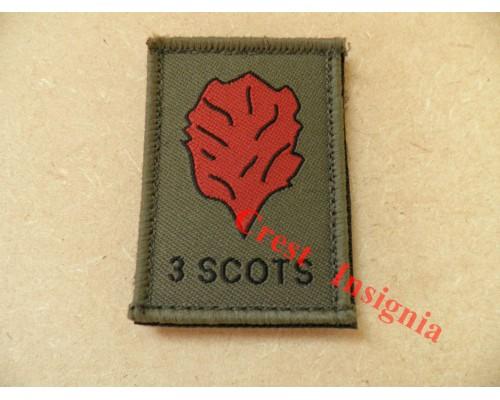 1533 3 Scots [Black Watch] morale patch.
