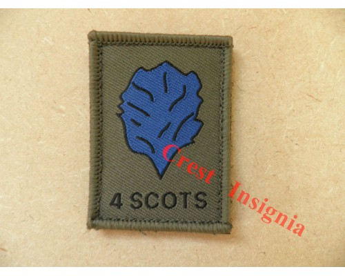 1534 4 Scots [The Highlanders] morale patch.