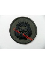 1115s. R.Marines Princes Award badge. black/olive.