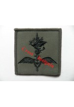 1119s. R.Marines Helicopter Support Unit team patch. Black/Olive.