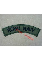 1125s, 'Royal Navy' Shoulder Title, subdued. Pair.