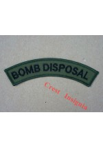 1126s, Royal Navy 'Bomb Disposal' shoulder titles, subdued.