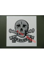 1628 Lancers, 'Death or Glory' vehicle sticker/decal.