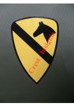 1644 U.S. 1st Cavalry, vehicle decal/sticker.