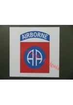 1645 U.S. 82nd Airborne, vehicle sticker/decal.