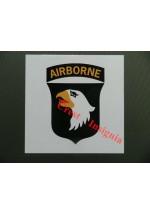 1646 101st Airborne, vehicle decal/sticker.