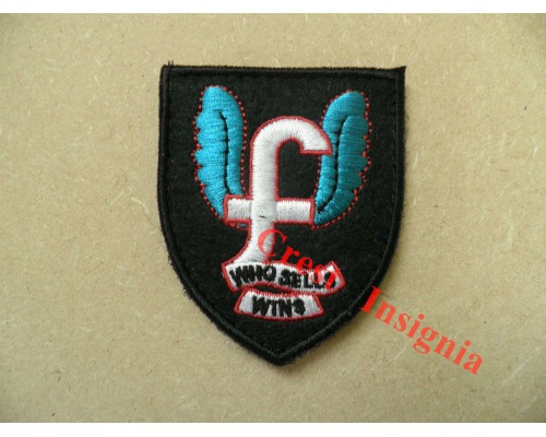 1792 'Who Sells Wins' special forces morale patch.