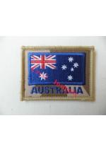 1838d Australia flag patch, Desert.