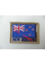 1838des New Zealand Flag patch, Desert.