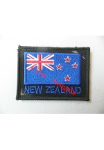 1839dpm New Zealand flag patch, DPM.