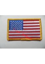 1840c U.S.A. stars & stripes  flag patch.