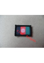 1850[s] Afghan/UK liason personnel flag patch, small size.