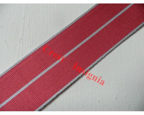 7019 British Empire Medal, replacement ribbon, per metre.