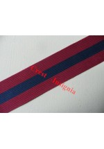 7041 Distinguished Conduct Medal, medal ribbon, per metre.