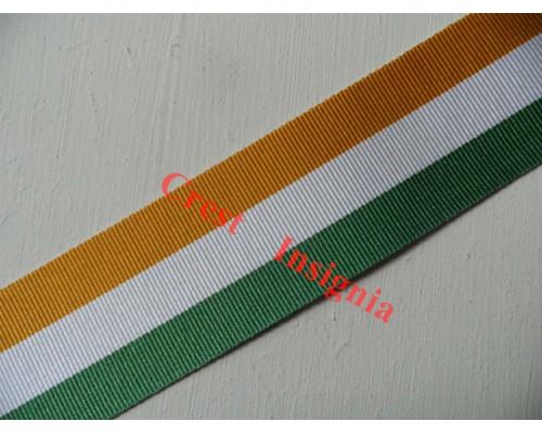 7152 Kings South Africa Medal, medal ribbon, per metre