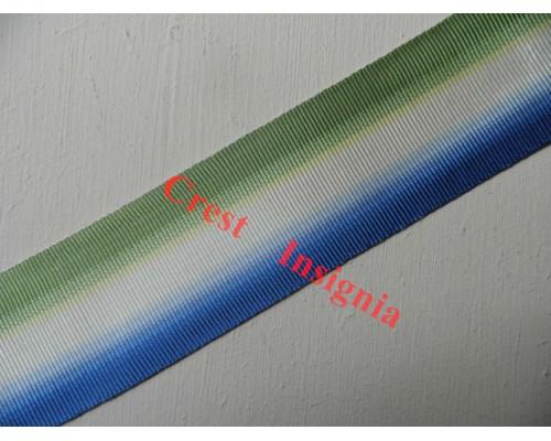 7178 Atlantic Star, medal ribbon, per metre.