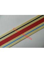 7180 Africa Star, medal ribbon, per metre.