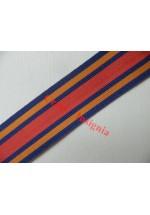 7182 Burma Star, medal ribbon, per metre.