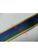 7237 Territorial Efficiency Medal, medal ribbon, per metre.