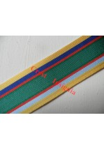 7262 Cadet Forces LSGC Medal, medal ribbon, per metre.