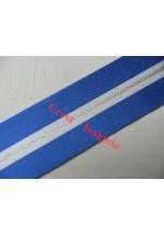 7552 NATO [non article 5] Medal, medal ribbon, per metre.