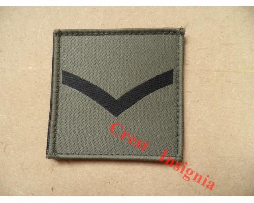 1071 Ubacs/MTP Velcro Rank Patch. Lance/Corporal