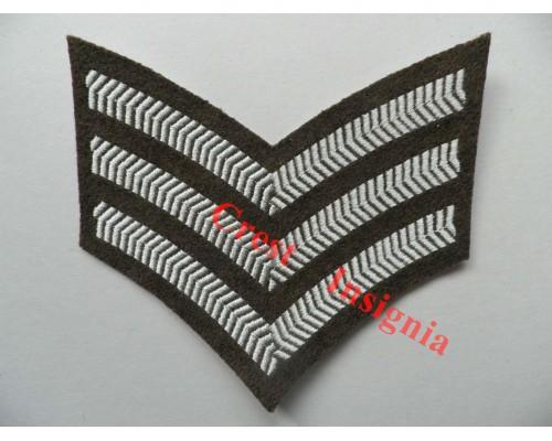 1093 FAD [No2 dress] Rank Insignia.  Sergeant.