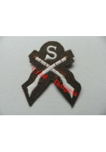 1205c Sniper qualification badge. Colour