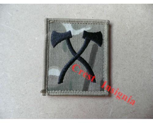 1206mtp Assault Pioneer qualification badge. MTP