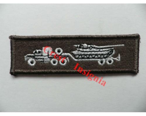 1218c Tank Transporter Driver qualification badge.