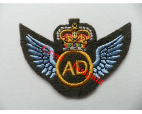 1248c Air Dispatcher Wings Brevet. Colour