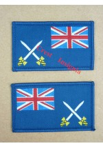 1351 RLC Maritime units arm patches.