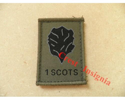 1531 1 Scots [Royal Scots Borderers] morale patch.