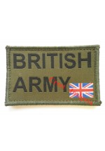 1561 'British Army' ID patch.