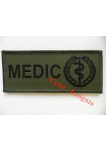 1565o 'Medic' ID patch, olive.