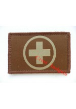 1566t Medical kit location patch, tan.