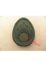 1567o  'ATO' [ammo tech] patch, olive.