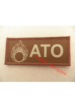 1568t ATO + 'grenade' ID patch, tan.