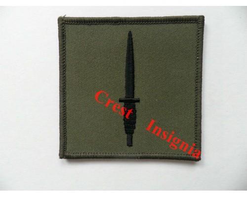 1104s. 3 Commando Brigade formation badge. Black/Olive.