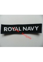 1121c, Royal Navy, velcro backed Jacket title. Colour