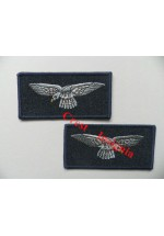 1152. RAF Eagle/Albatross arm badges. Pair