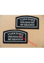 1181 Yorkshire UOTC Air Section arm patches. Pair.