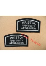 1183 Bristol & Bath UOTC, air section arm badges. Pair.