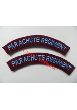 1725 Parachute Regiment, re-enactors shoulder titles, 2nd pattern.