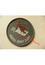 1795 'Abdul Dont Surf' morale patch.
